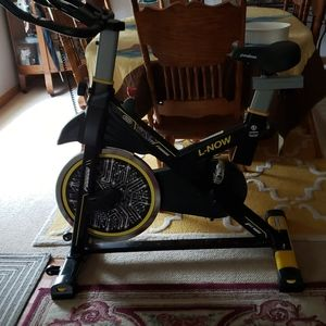 This is a spin bicycle. Just like Peleton.